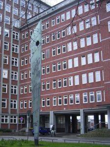 Symbolfor für das Rote Backsteinhaus des Bundesamtes für Seeschifffahrt und Hydrographie