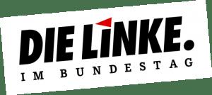 Logo Linksfraktion im Bundestag schräg